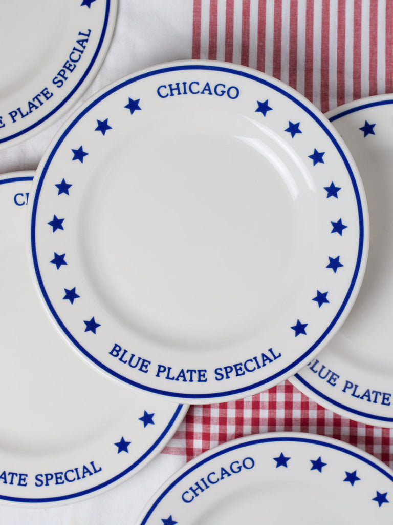 Chicago Blue Plate Special Dinner Plate  sc 1 st  P.O.S.H. Chicago & Chicago Blue Plate Special Dinner Plate | P.O.S.H.