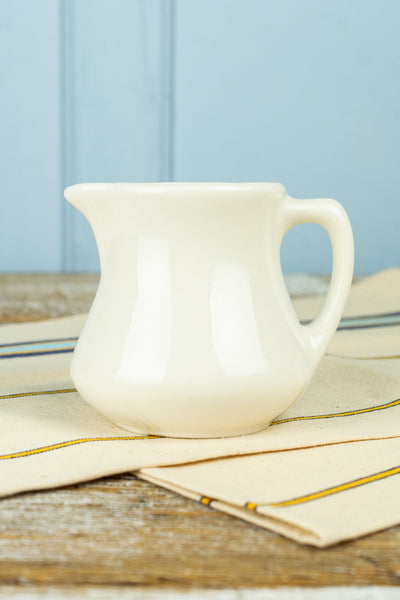 Vintage Buffalo China Ironstone Creamer