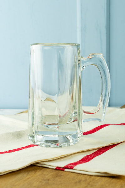 Vintage Glass Beer Mug
