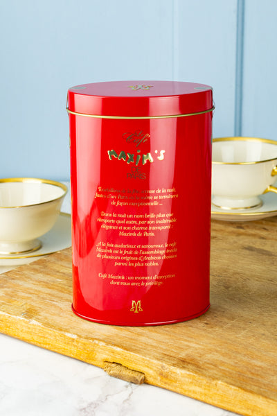 Maxim's de Paris French Roast Prestige Coffee Tin