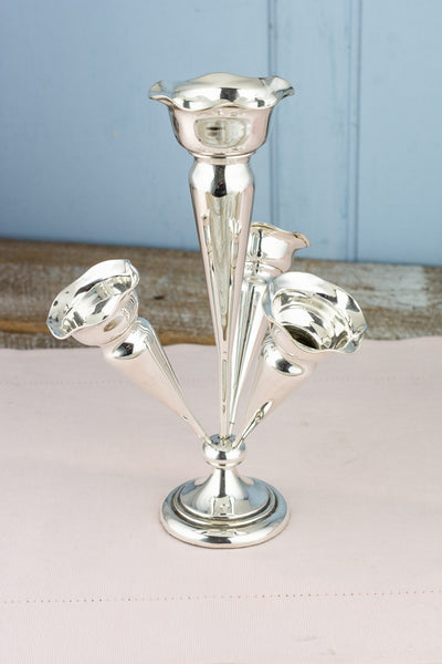Antique Silverplate Epergne