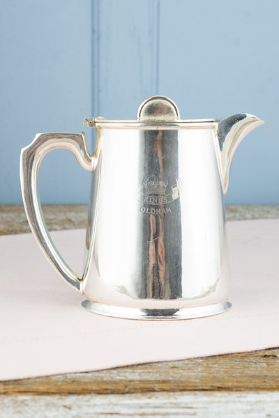 Vintage Silverplate King's Oldham Coffeepot