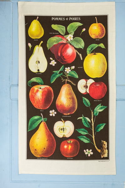 Apples & Pears Tea Towel