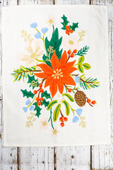 Winter Bouquet Tea Towel