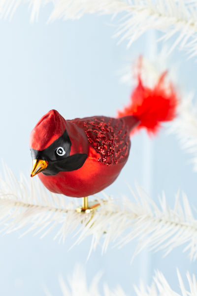 Northern Cardinal Clip Ornament