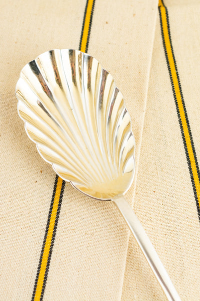 Vintage Silverplate Serving Spoon