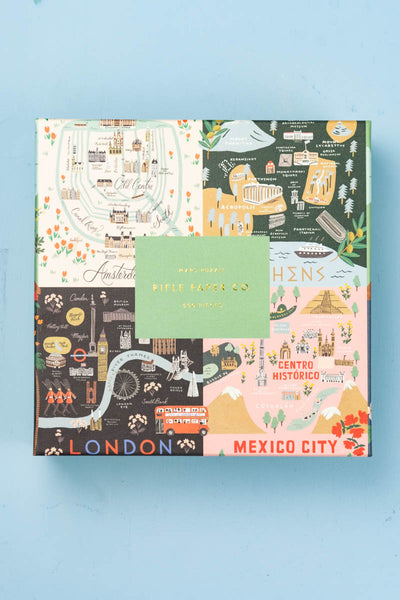 City Maps Jigsaw Puzzle