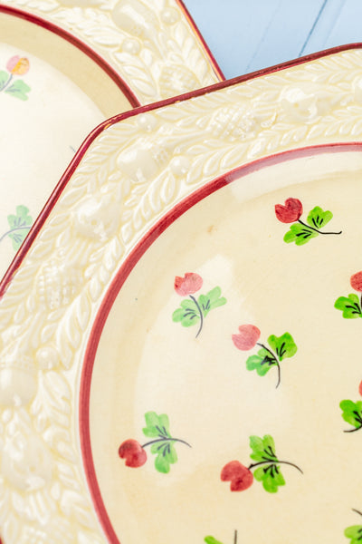 Vintage English Salad or Dessert Plates - Set of 6