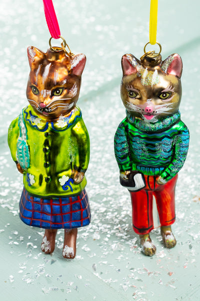 Nathalie Lété Dapper Cat Ornament