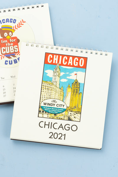 2021 Chicago Desk Calendar