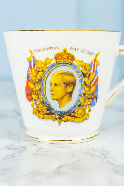 Vintage Edward VIII Tea Service for 4