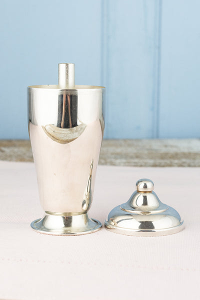 Vintage Silverplate Push Button Sugar Dispenser