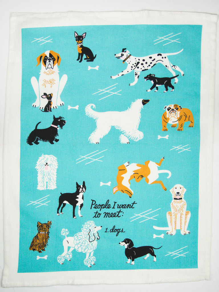 Dogs Dishtowel | P.O.S.H.