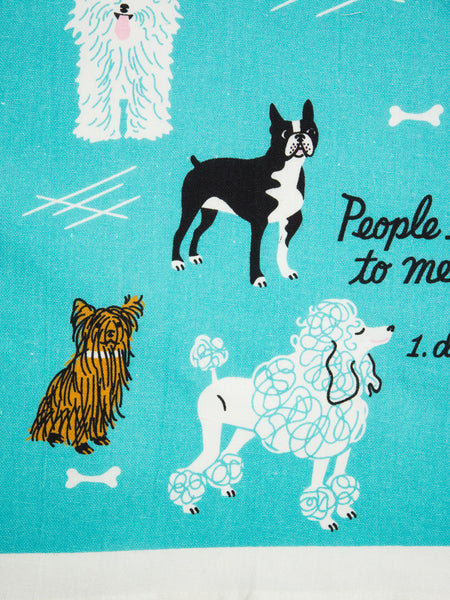 Dogs Dishtowel