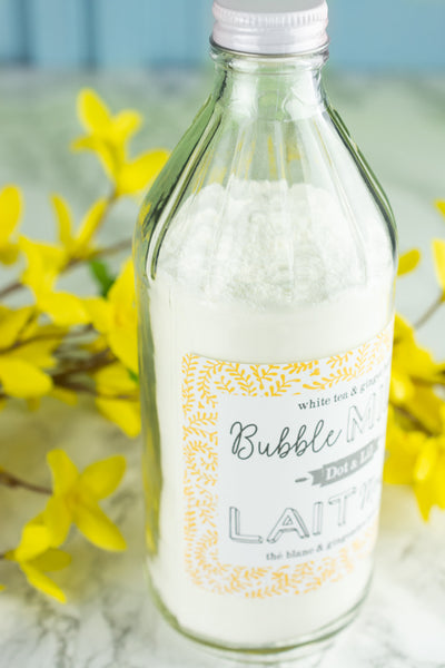 Dot & Lil Bubble Milk Bath - White Tea and Ginger