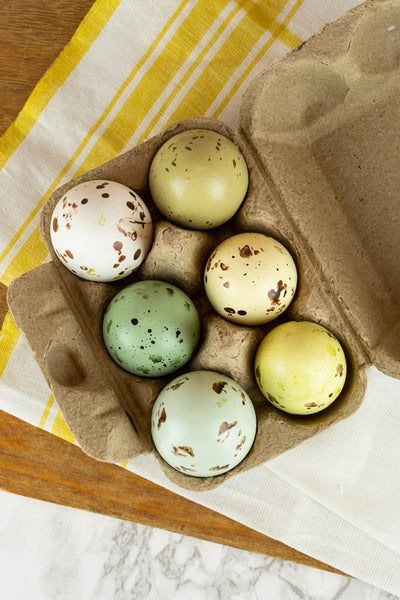 Dyed and Speckled Eggs - 1/2 Dozen