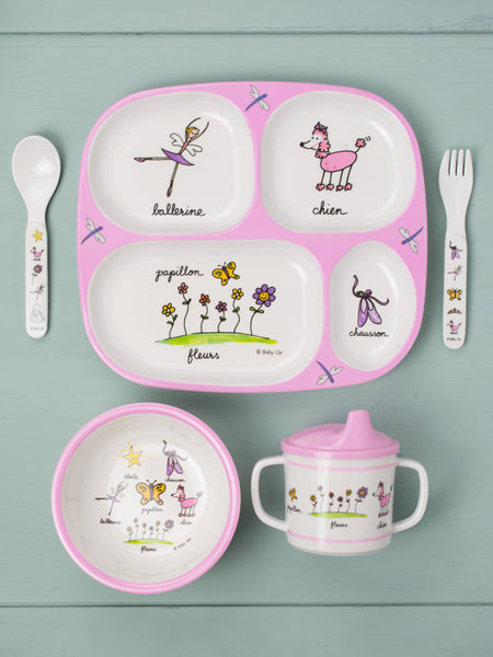 French Ballerina Mealtime Set
