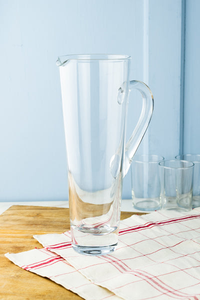 French Bistro Glass Pitcher