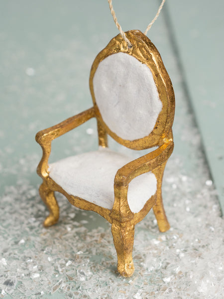 French Gold Chair