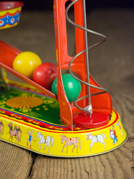 German Wind-Up Circus Elephant Tin Toy