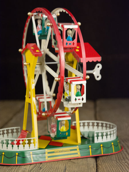 German Wind-Up Tin Ferris Wheel