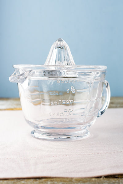 Glass Measuring Cup and Citrus Juicer