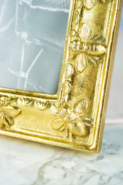 "Gold Bee Frame - 5"" x 7"""