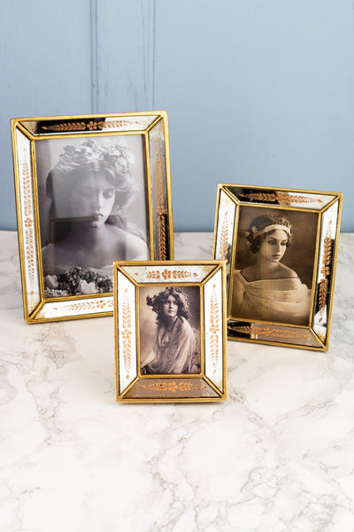 Gold Mirror Frame - Small