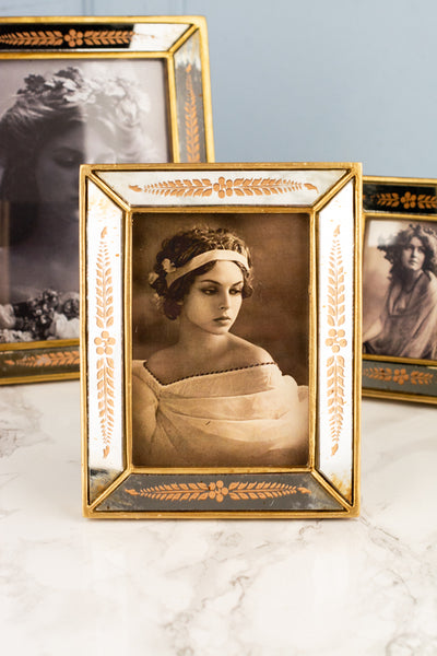 Gold Mirror Frame - Medium