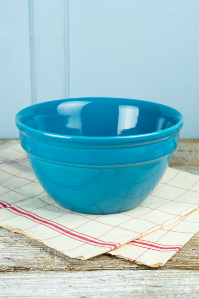 Hall China Peacock Blue Mixing Bowl