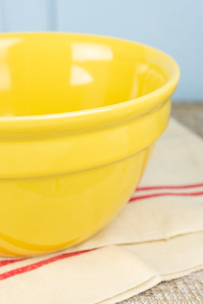 Hall China Sunflower Yellow Mixing Bowl