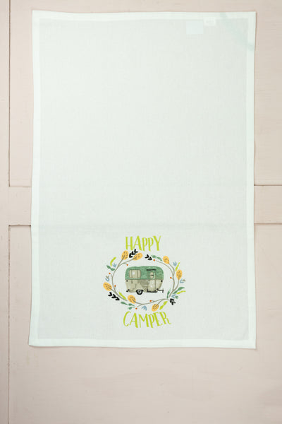 Happy Camper Tea Towel Set