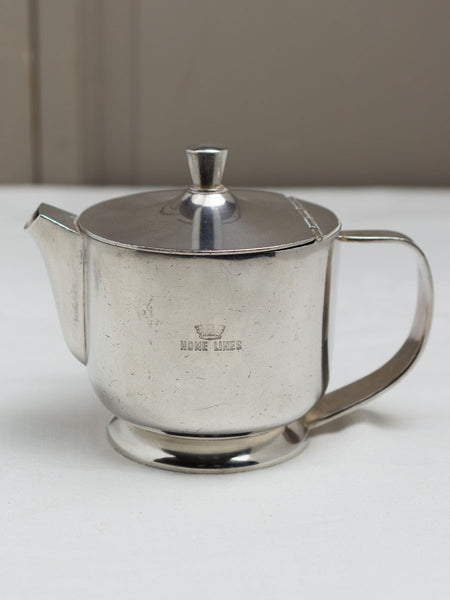 Vintage Home Lines Silverplate Italian Teapot