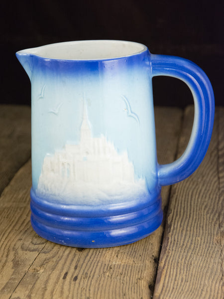 Vintage Saint Clément Mont Saint-Michel Pitcher