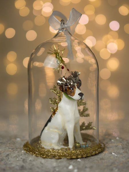 Jack Party Pooch Cloche Ornament