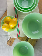 Jadeite Mixing Bowls - Set of 3