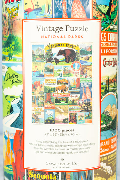 1000-Piece National Parks Jigsaw Puzzle