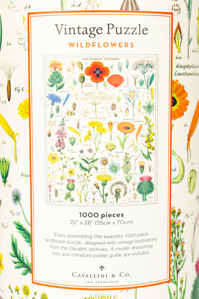 1000-Piece Wildflower Jigsaw Puzzle