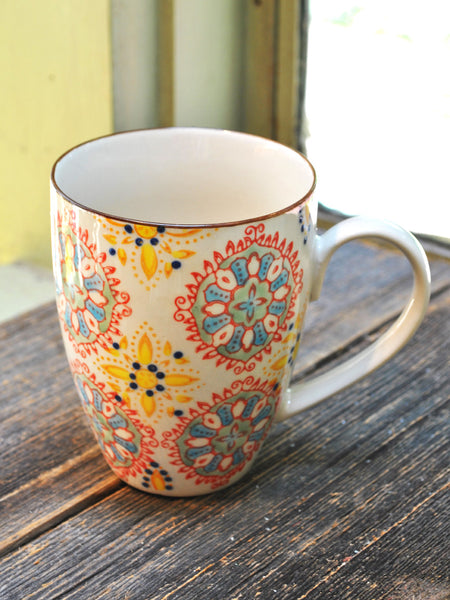 Bohemian Mugs - Set of 4