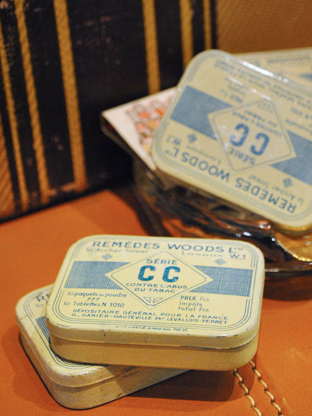 Vintage French Remedy Tins