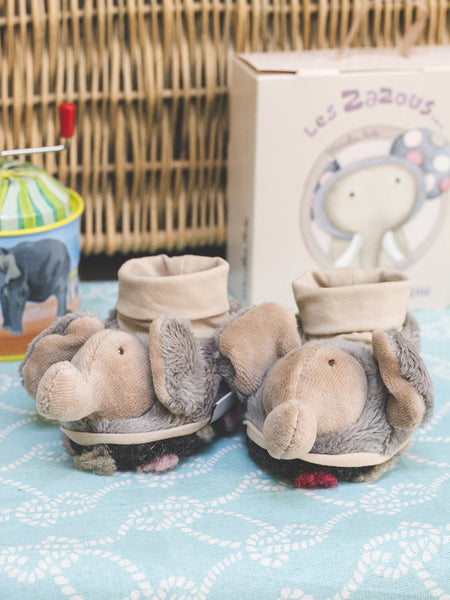 French Elephant Slippers