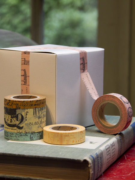 French Ephemera Paper Tape