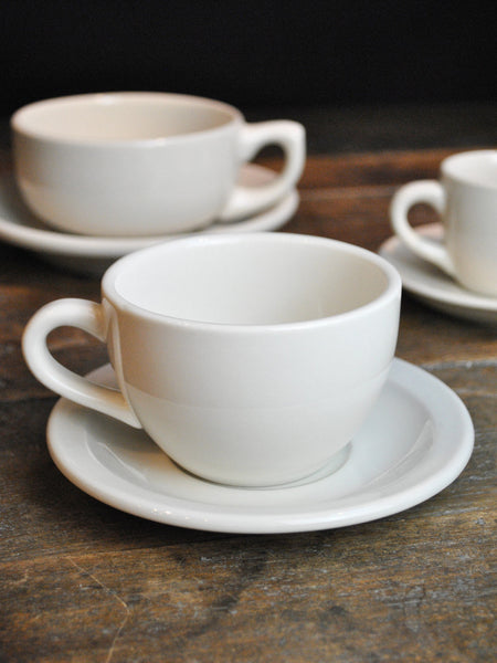 Basic Restaurant China Coffee Cup & Saucer