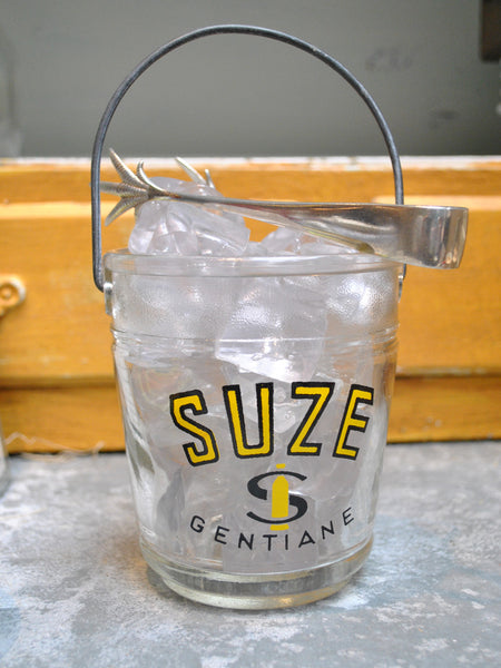 "Vintage ""Suze"" Ice Bucket"