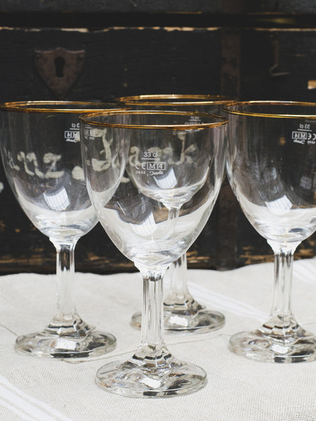 Belgian Classic Abbey Beer Goblets - Set of 4
