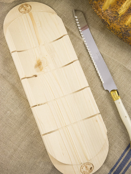Laguiole Bread Knife & Baguette Board