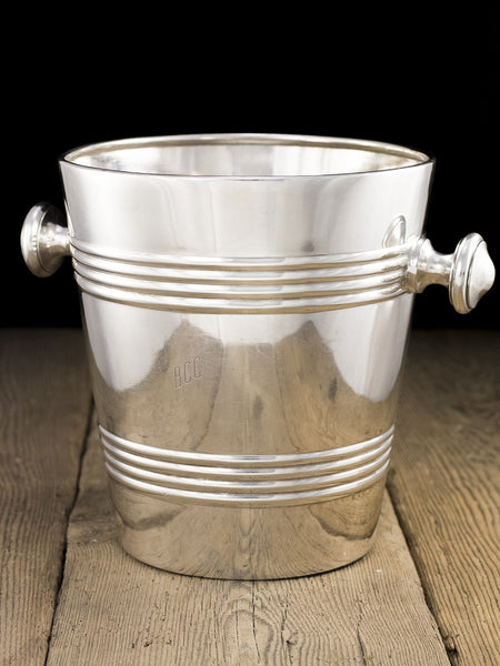 Vintage Silverplate Blackpool Catering College Champagne Bucket