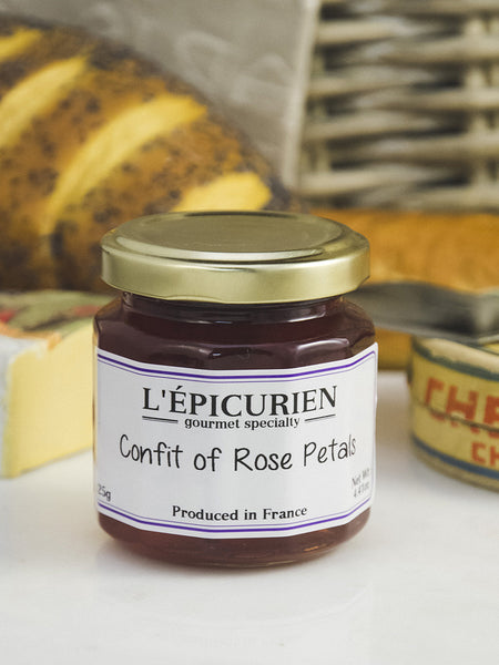 French Rose Petal Confit