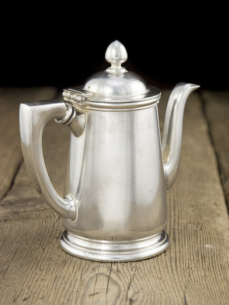 Vintage Silverplate Desert Inn Coffee Pot