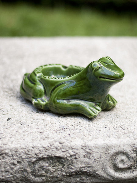 Vintage French L'Héritier-Guyot Frog Ashtray